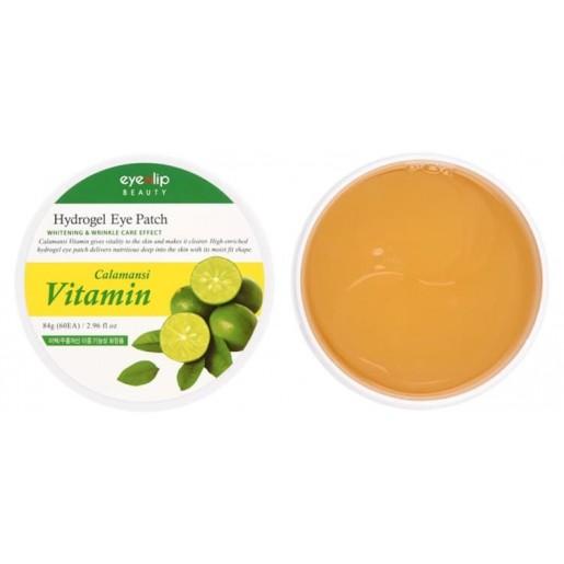 Гидрогелевые патчи для глаз Eyenlip Calamansi Vitamin Hydrogel Eye Patch, 60 шт.
