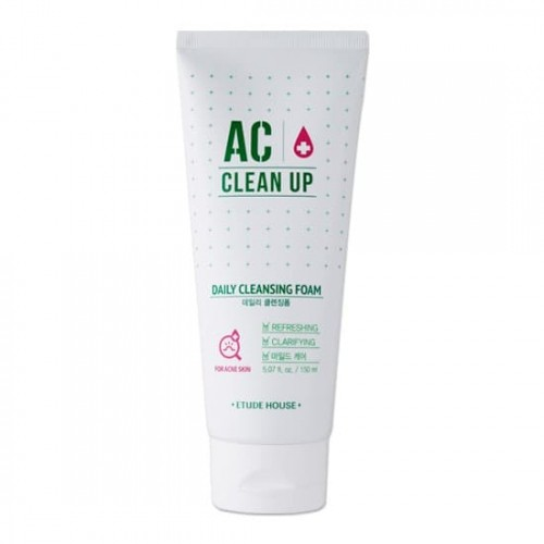 Пенка для умывания Etude House AC Clean Up Daily Acne Cleansing Foam, 150 мл