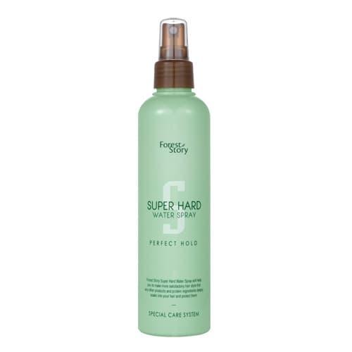 Спрей для волос фиксирующий увлажняющий Welcos Forest Story Super Hard Water Spray, 252 мл