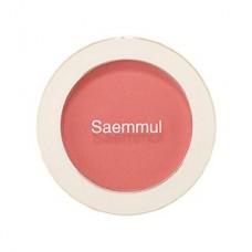 Румяна The Saem Saemmul Single Blusher CR02 Baby Coral, 5 гр.