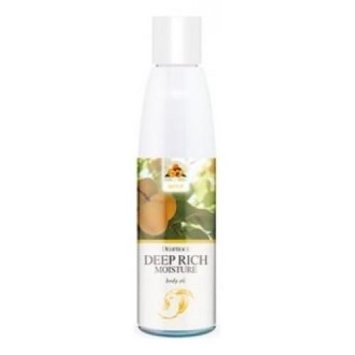 Увлажняющее масло для тела Deoproce Deep Rich Moisture Body Oil Apricot, 215 мл