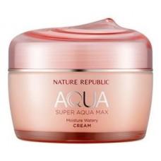 Увлажняющий крем для лица Nature Republic Super Aqua Max Moisture Watery Cream, 80 мл