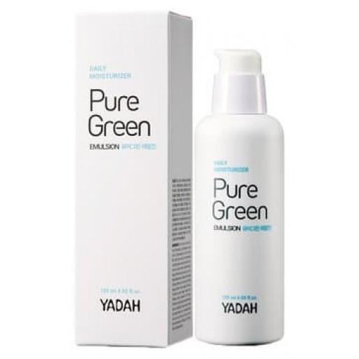 Эмульсия для лица увлажняющая Yadah Pure Green Emulsion, 120 мл old