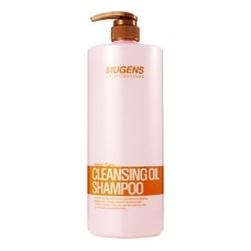 Шампунь для волос Welcos Mugens Cleansing Oil Shampoo с аргановым маслом, 1500 мл