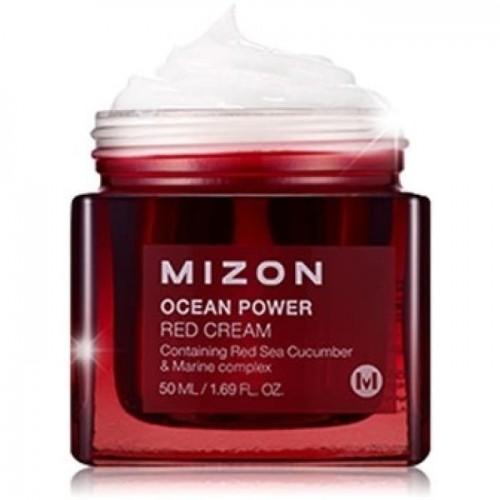 Антивозрастной крем для лица Mizon Ocean Power Red Cream, 50 мл