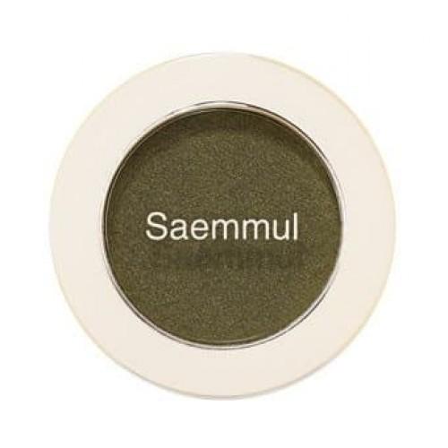 Тени для век мерцающие The Saem Saemmul Single Shadow (Shimmer) GR02, 2 гр.