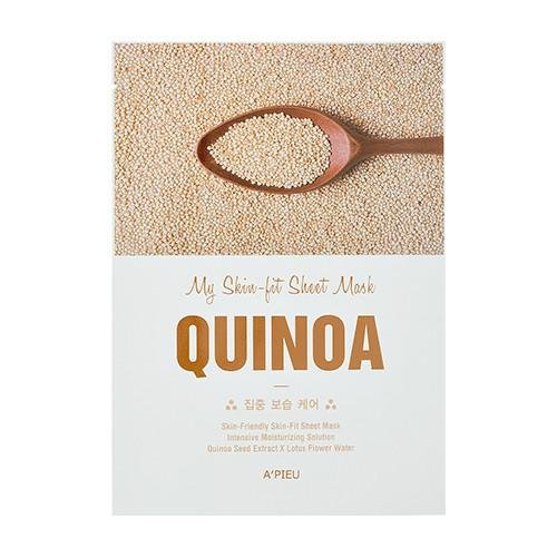 Tканевая маска для лица A'Pieu My Skin-Fit Sheet Mask Quinoa с экстрактом киноа, 25 мл