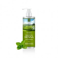 Бальзам для волос Deoproce Rinse Green Tea Henna Pure Refresh с зеленым чаем и хной, 1 л.