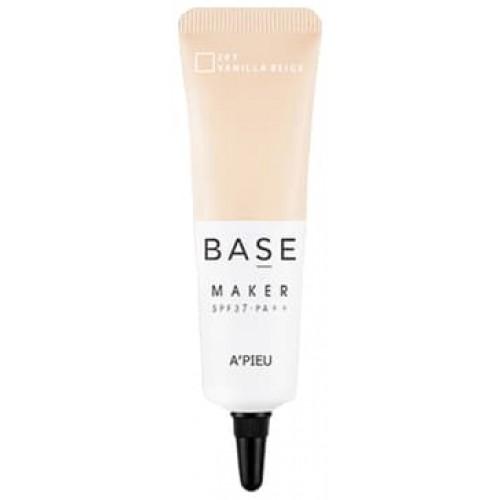 База под макияж A'Pieu Base Maker SPF37 PA++ 201 Vanilla Beige, 20 гр.