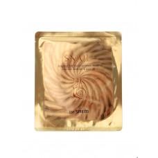 Гелевая маска для лица The Saem Snail Essential 24K Gold Gel Mask Sheet с муцином улитки и золотом, 30 гр.