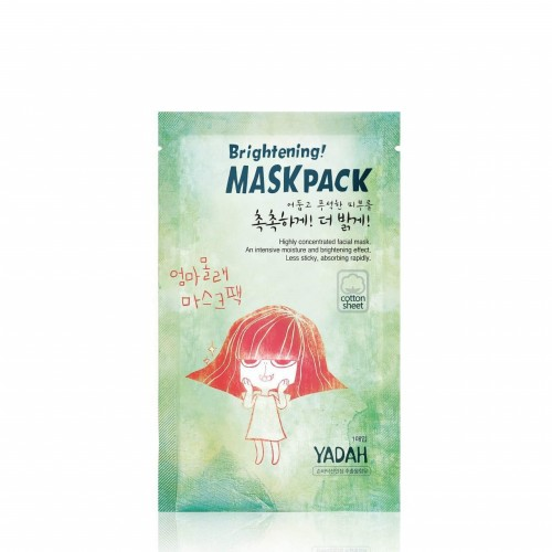Маска для лица на тканевой основе Yadah Brightening Mask Pack, 25 гр.