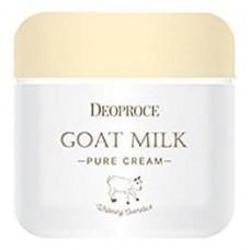 Антивозрастной крем для лица Deoproce Goat Milk Pure Cream с экстрактом козьего молока, 50 мл