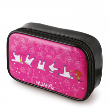 Косметичка YADAH Cosmetic Pouch Hot Pink, 1 шт.