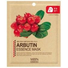 Тканевая маска для лица Mijin Arbutin Essence Mask, арбутин, 25 гр.