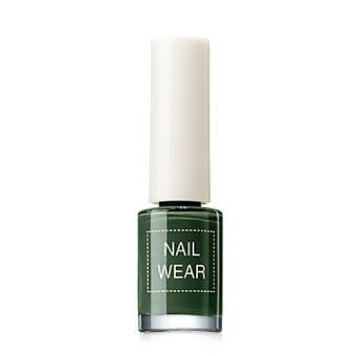 Лак для ногтей Nail Wear 89 Deep Green, 7 мл