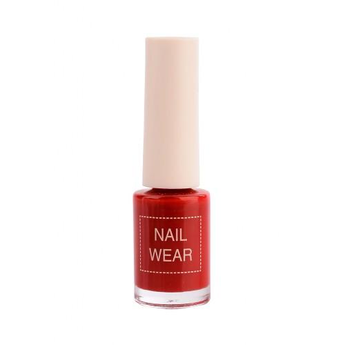 Лак для ногтей Nail Wear 07 Red Show, 7 мл