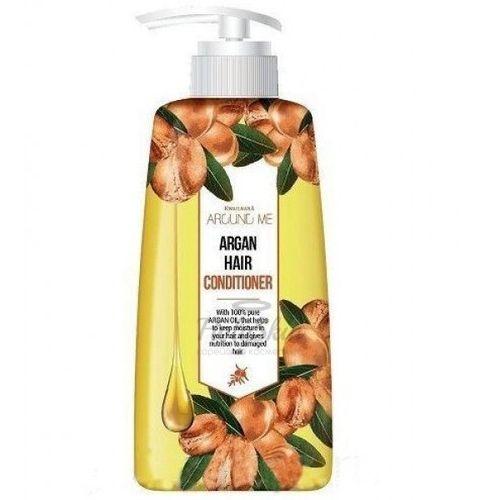 Кондиционер для поврежденных волос Welcos Around Me Argan Hair Conditioner с аргановым маслом, 500 мл