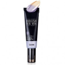 BB крем витаминная вуаль Lioele Dollish Veil Vita BB Gorgeous Purple, 50 мл.