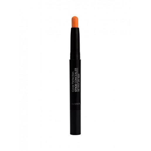 Консилер-стик для маскировки недостатков кожи The Saem Cover Perfection Stick Concealer 02 Rich Beige, 6,5 гр.