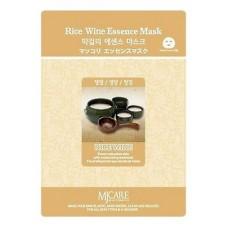 Тканевая маска для лица Макколе (рисовое вино) Makgeolli Essence Mask, 23 гр.