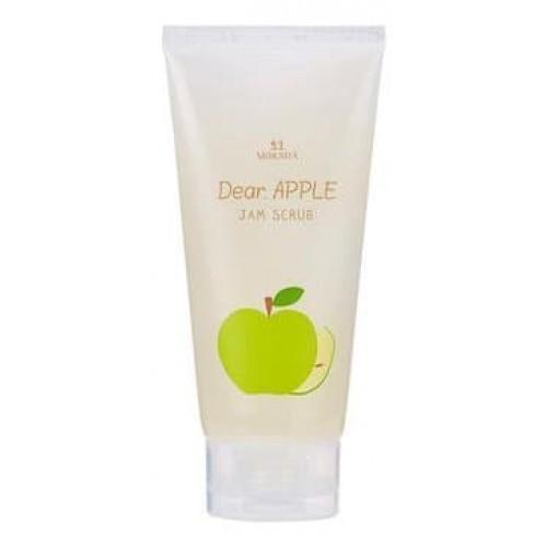 Скраб для лица яблочный Moksha Dear Apple Jam Scrub, 150 мл
