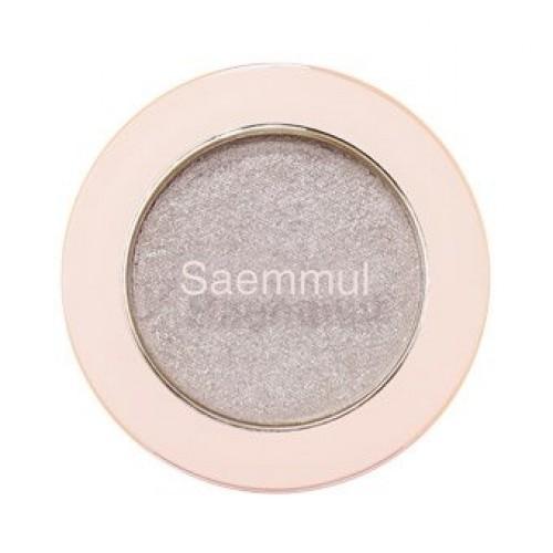 Тени для век с глиттером The Saem Saemmul Single Shadow (Glitter) WH02, 2 гр.