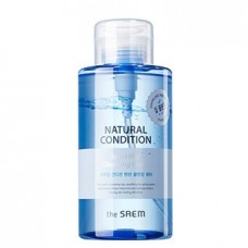 Мицеллярная вода The Saem Natural Condition Sparkling Cleansing Water, 500 мл.