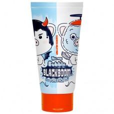 Кислородная маска для очищения пор Elizavecca Hell-Pore Bubble Blackboom Pore Pack, 150 мл.