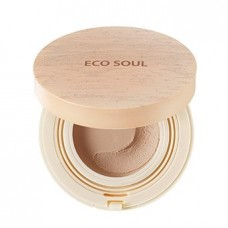 Основа-мусс тонирующая The Saem Eco Soul Mousse Foundation Light Beige, 12 гр.