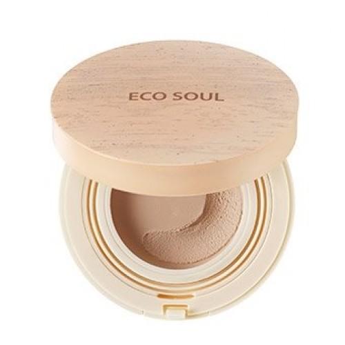 Основа-мусс тонирующая The Saem Eco Soul Mousse Foundation Light Beige, 12 гр.