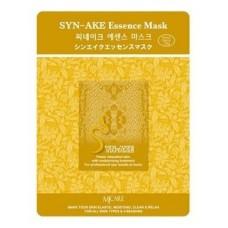 Тканевая маска для лица Mijin Syn-Ake Essence Mask с пептидом змеиного яда, 23 гр.