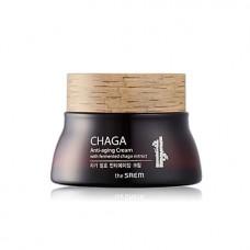 Антивозрастной крем для лица The Saem CHAGA Anti-wrinkle Cream, 60 мл