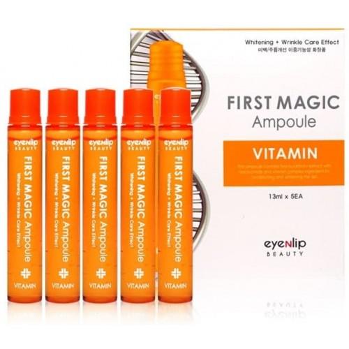 Ампулы для лица Eyenlip First Magic Ampoule Vitamin, 5 шт. по 13 мл