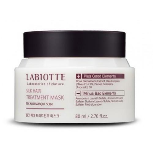 Питательная маска для кожи головы и волос Labiotte Silk Hair Treatment Mask, 80 мл