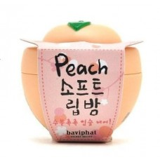 Бальзам для губ Baviphat Peach Soft Lip Balm персик, 6 гр.