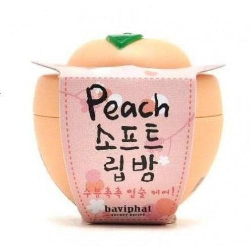 Бальзам для губ Baviphat Peach Soft Lip Balm персик, 6 гр.
