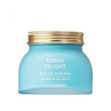 Скраб для тела The Saem Urban Delight Body Salt Scrub Wash с морской солью, 320 гр.