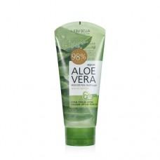Гель для тела успокаивающий Welcos Aloe vera Moisture Real Soothing Gel, 150 мл.