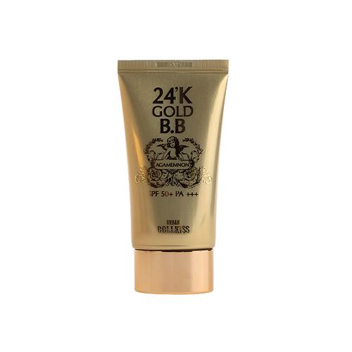 BB крем Urban Dollkiss Agamemnon 24K Gold BB Cream Light Beige с 24-каратным золотом, 50 мл