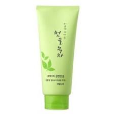 Пенка для очищения Green tea Moist Cleansing Foam, 180 гр.