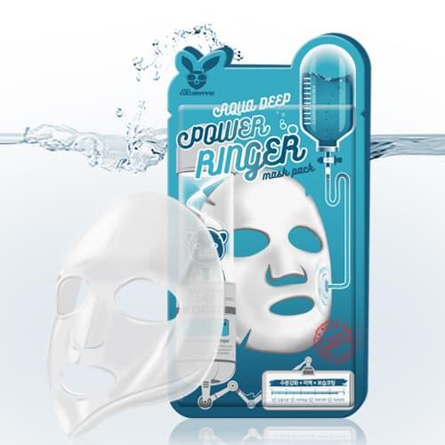 Тканевая маска для лица Elizavecca Aqua Deep Power Ring Mask Pack, 23 мл