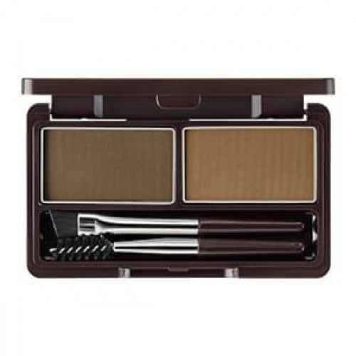 Набор для макияжа бровей The Saem Eco Soul Multi Brow Kit 01 Natural Brown, 3,8 гр.
