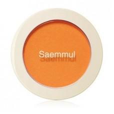 Румяна The Saem Saemmul Single Blusher OR02 Selfie Orange, 5 гр.