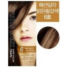 Краска для волос Fruits Wax Pearl Hair Color 06, 60 гр.