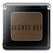 Тени для век моно Secret Key Fitting Forever Single Shadow Bitter Choco Brown, 3,8 гр.