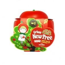 Осветляющая маска для лица Baviphat New Tree Apple Instant Tone-up Brightening Pack, 100 гр.