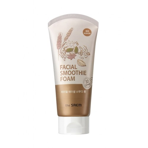 Пенка для умывания для лица The Saem Cereal Facial Smoothie Foam (W), 150 мл