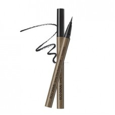 Кисть-лайнер для глаз The Saem Eco Soul Long Stay Brush Liner Black