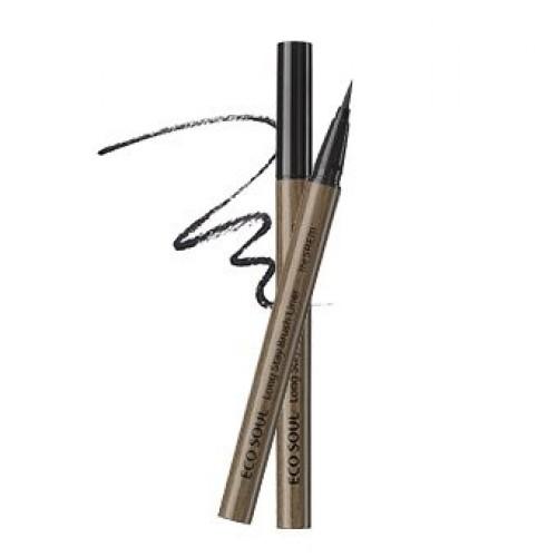 Кисть-лайнер для глаз The Saem Eco Soul Long Stay Brush Liner Black, 10 гр.