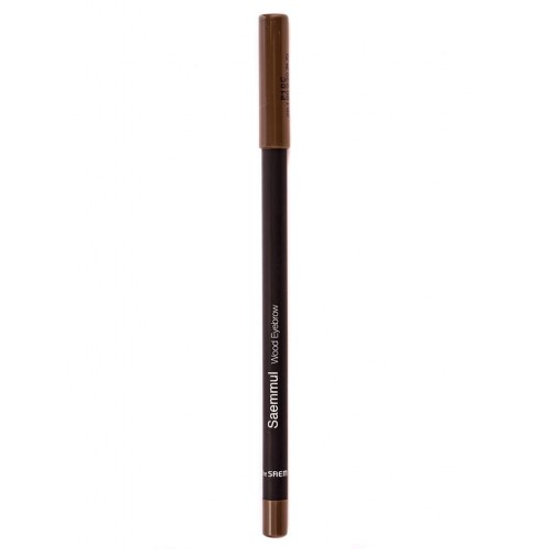 Карандаш для бровей The Saem Saemmul Wood Eyebrow Black Brown, 0,2 гр.